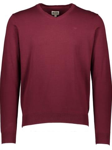 "Mustang Sweter ""Emil"" w kolorze czerwonym"