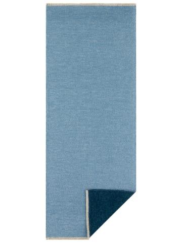 """Hanse Home Omkeerbaar tapijt """"Duo Duo"""" lichtblauw/donkerblauw"""