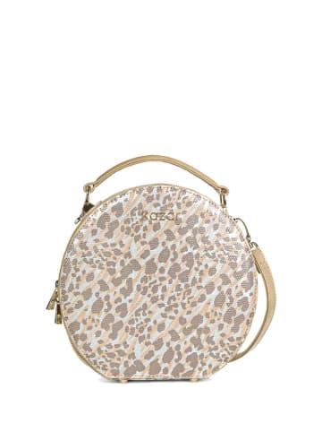 Kazar Skórzana torebka ze wzorem - (S)20 x (W)20 x (G)7,5 cm