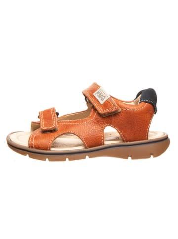 Primigi Leren sandalen oranje