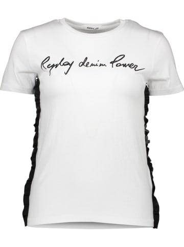 Replay Koszulka w kolorze białym