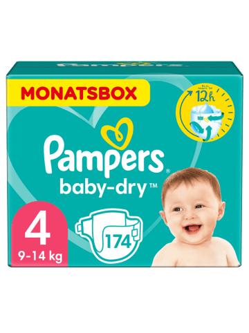 "Pampers Monatspackung Windeln ""Baby Dry"", Gr. 4, 9-14 kg (174 Stück)"