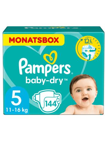 "Pampers Monatspackung Windeln ""Baby Dry"", Gr. 5, 11-16 kg (144 Stück)"