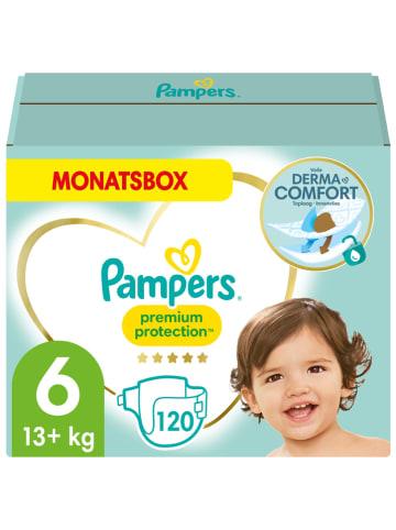 """Pampers Maandpak luiers """"Premium Protection"""", gr. 6, 13-18 kg (120 stuks)"""
