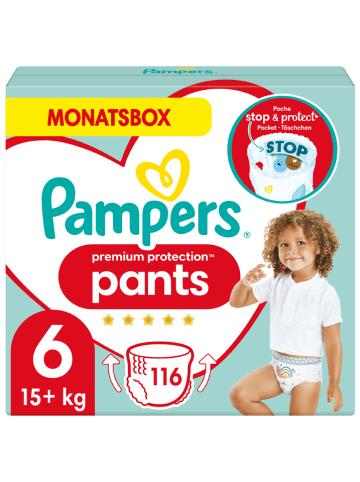 """Pampers Maandpak luiers """"Premium Protection Pants"""", gr. 6, 15+ kg (116 stuks)"""