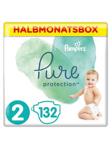 """Pampers Pieluszki (132 szt.) """"Pure Protection"""" - rozmiar 2, 4-8 kg"""
