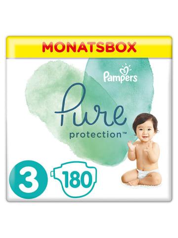 """Pampers Maandverpakking luiers """"Pure Protection"""", maat 3, 6-10 kg (180 stuks)"""