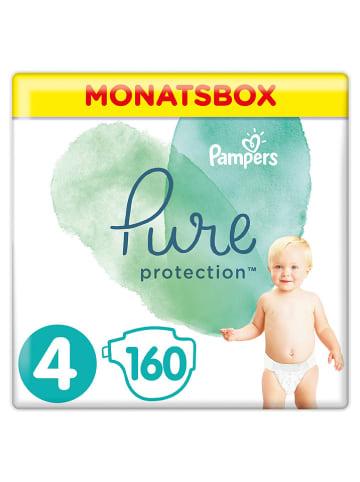 """Pampers Maandverpakking luiers """"Pure Protection"""", maat 4, 9-14 kg (160 stuks)"""
