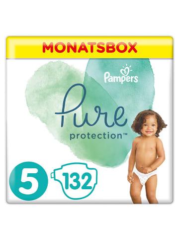 """Pampers Maandverpakking luiers """"Pure Protection"""", maat 5, 11+ kg (132 stuks)"""