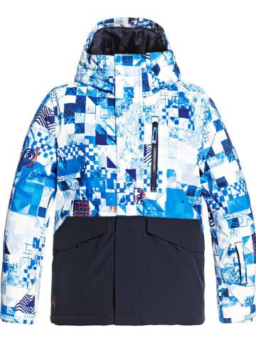 "Quicksilver Kurtka narciarska ""Mission Block"" w kolorze niebieskim"