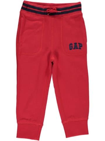 GAP Spodnie dresowe w kolorze czerwonym