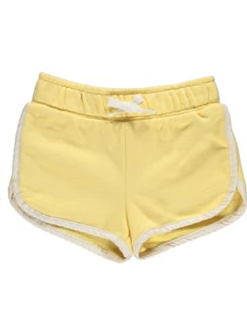 GAP Szorty dresowe w kolorze żółtym