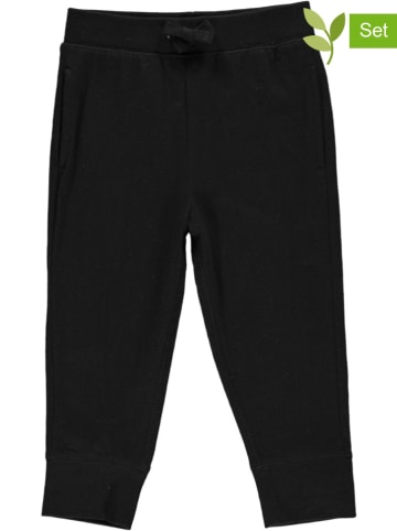 GAP 2-delige set: sweatbroeken zwart/kaki