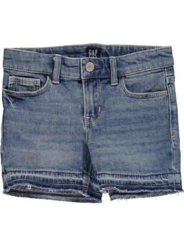 GAP Szorty dżinsowe w kolorze niebieskim