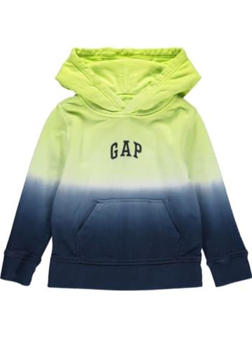 GAP Bluza w kolorze zielono-granatowym