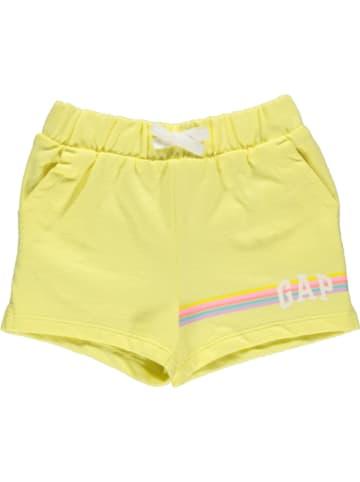 GAP Sweatshort geel