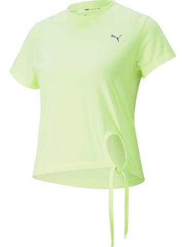 """Puma Koszulka sportowa """"Winter Pearl"""" w kolorze jaskrawożółtym"""