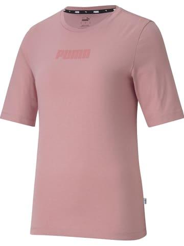 """Puma Koszulka """"Modern Basics"""" w kolorze jasnoróżowym"""