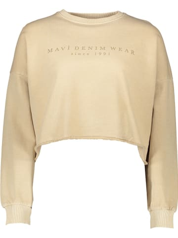 MAVI Sweatshirt beige