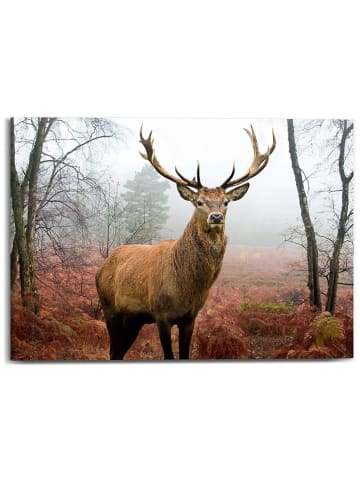 "Orangewallz Druk ""Autumn Deer"" na płótnie - 70 x 50 cm"