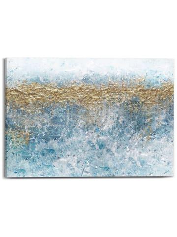 """Orangewallz Druk """"Golden Glacier II"""" na płótnie - 70 x 50 cm"""