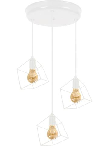 "Tosel Hanglamp ""Square"" wit - Ø 45 cm"