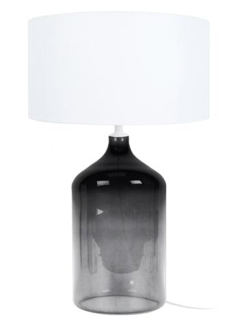 """Tosel Tischleuchte """"Reflexion"""" in Weiß/ Grau - (H)39 cm"""