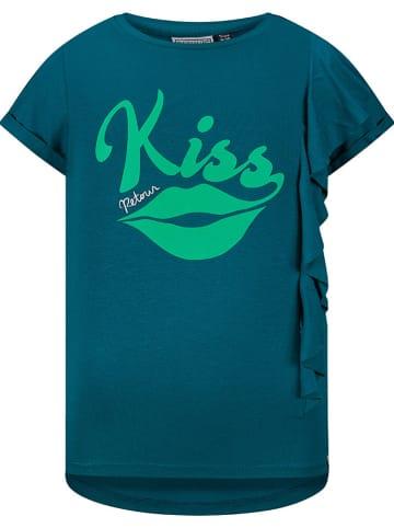 "Retour Koszulka ""Allessia"" w kolorze morskim"