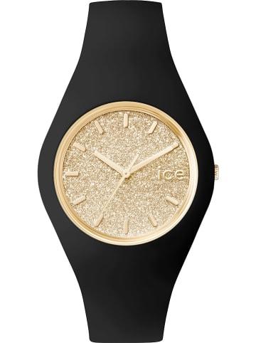 """Ice Watch Quarzuhr """"Glitter"""" in Schwarz/ Gold"""