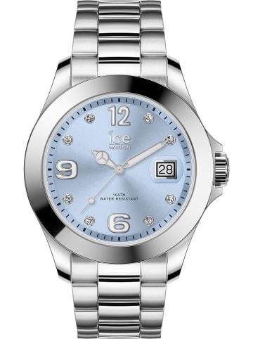 "Ice Watch Quarzuhr ""Classic"" in Silber/ Blau"
