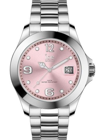 "Ice Watch Quarzuhr ""Classic"" in Silber/ Rosa"
