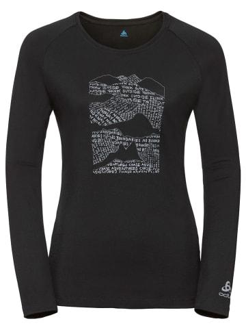 """Odlo Koszulka sportowa """"Alliance"""" w kolorze czarnym"""
