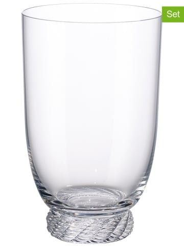 "Villeroy & Boch 4-delige set: glazen ""Montauk"" - 560 ml"