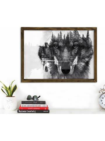 Evila Druk artystyczny z ramką -70 x 50 cm