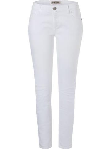 """Timezone Jeans """"Aleena"""" - Skinny fit - in Weiß"""