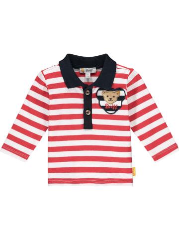 Steiff Poloshirt rood