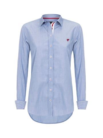 CULTURE Koszula w kolorze niebieskim