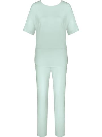 Triumph Piżama w kolorze miętowym