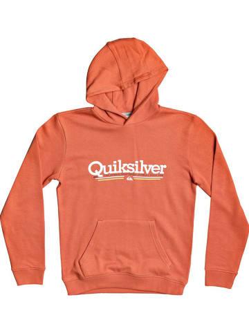 "Quicksilver Sweatshirt ""Tropical Lines"" in Orange"