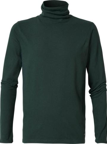 Petrol Industries Koszulka w kolorze ciemnozielonym
