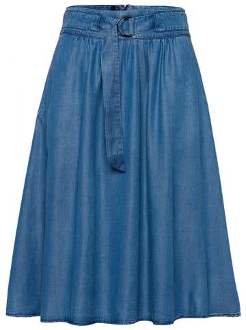 More & More Spijkerrok blauw