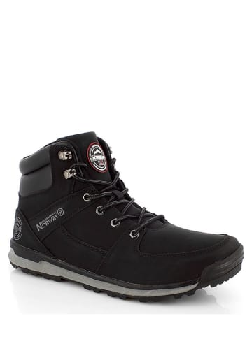 """Geographical Norway Boots """"Niagaragn"""" zwart"""
