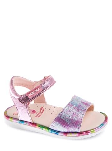 Pablosky Leren sandalen rosé