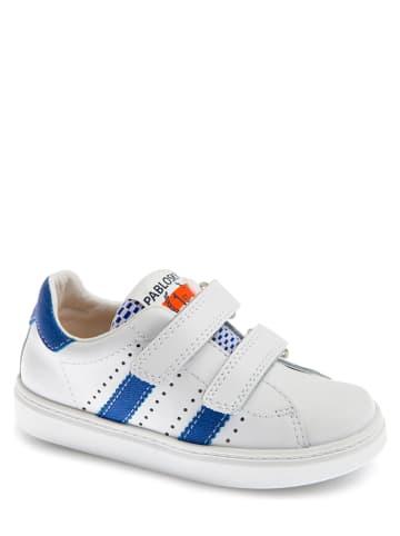 Pablosky Leren sneakers wit