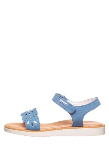 Pablosky Leder-Sandalen in Blau