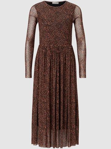 Rich & Royal Sukienka w kolorze jasnobrązowym
