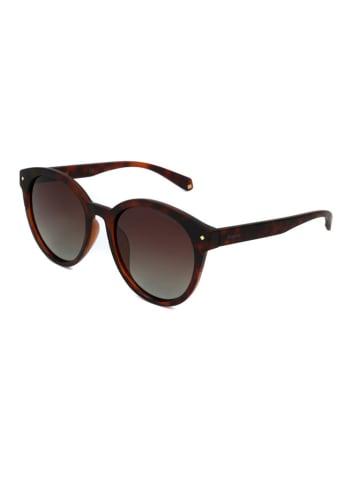 Polaroid Damen-Sonnenbrille in Braun