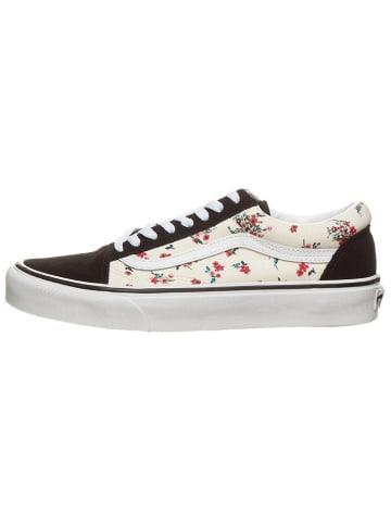 """Vans Sneakersy """"Old Skool"""" w kolorze kremowo-czarnym"""