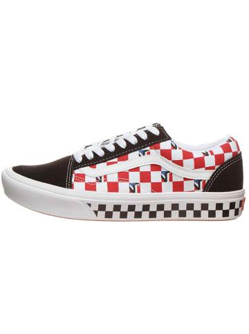 """Vans Sneakers """"Comfycush Old Sko """" donkerblauw/rood"""