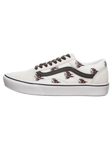 """Vans Sneakers """"Comfycush Old Sko """" wit/zwart"""